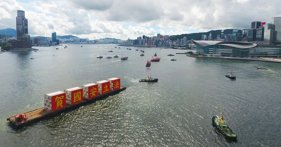 National security law helps Hong Kong integrate into national development: commissioner of Chinese foreign ministry in HKSAR