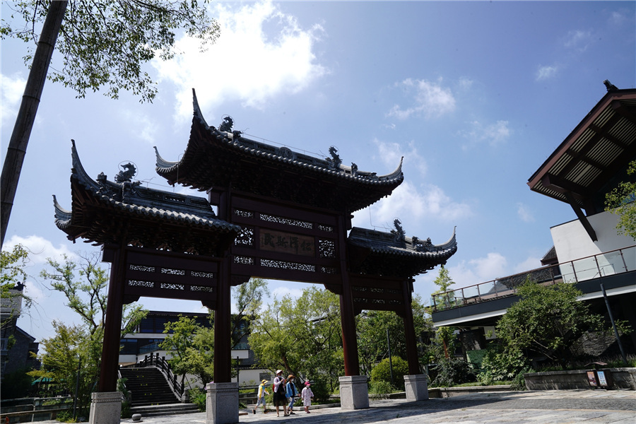 Shanghai cultural relics park immerses visitors in past