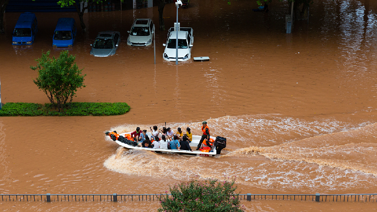China allocates $66 mln disaster relief funds for flood-hit areas