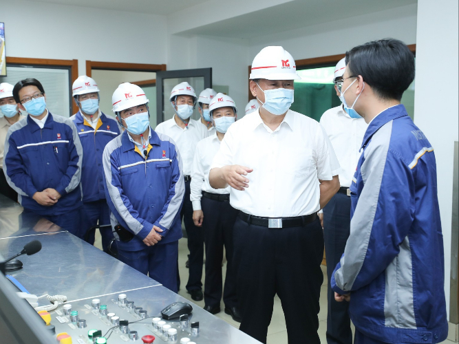 Xi inspects ecological park, steel firm in Anhui