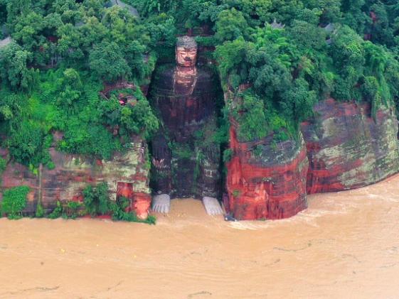 Sichuan floods spur historic move
