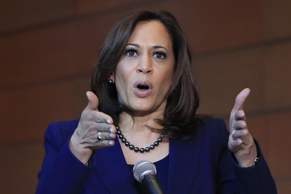 Kamala Harris accepts US Democratic vice presidential nomination