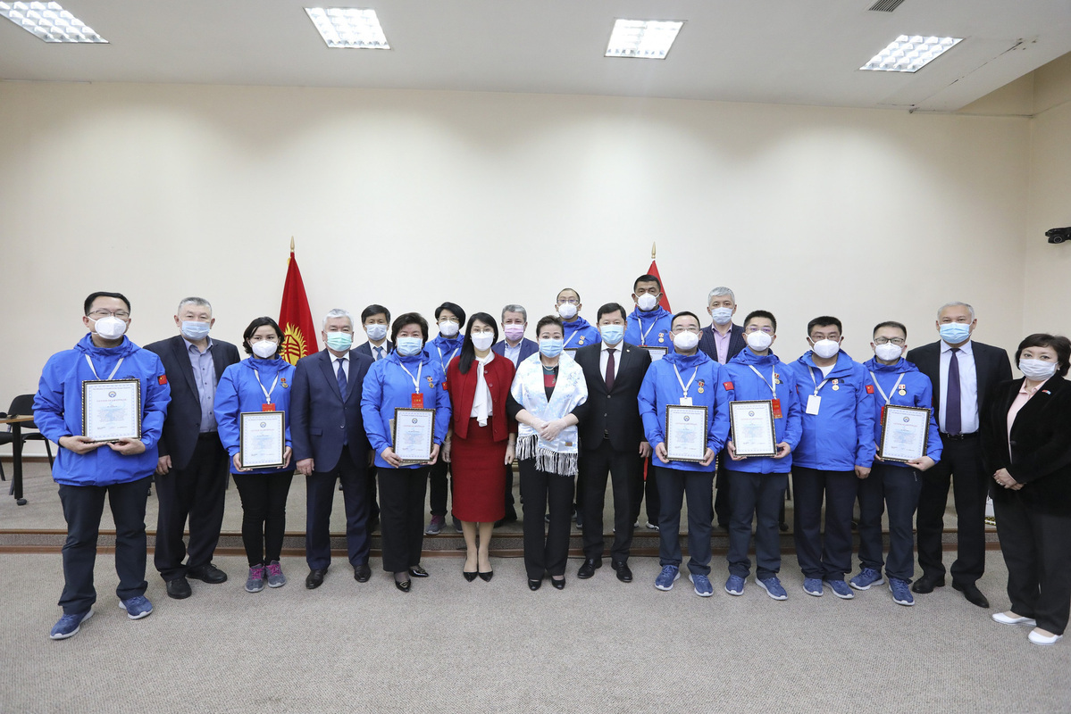 China delivers medical supplies to Kyrgyzstan to help fight COVID-19