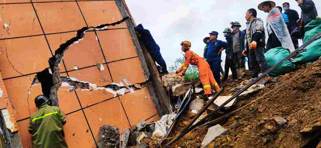Rain-triggered disasters leave 14 dead, 20 missing in China's Yunnan