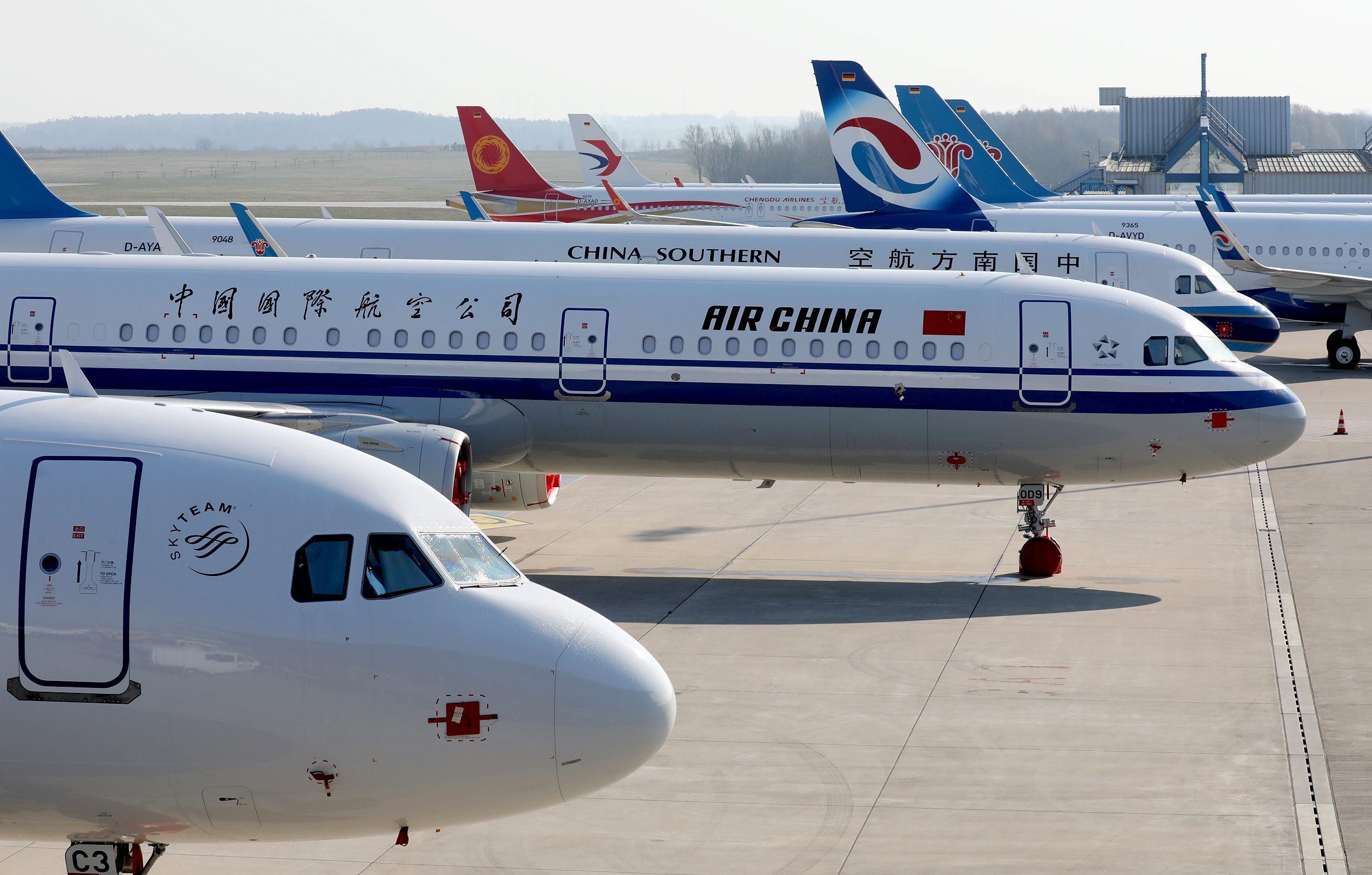 Chinese airlines off to quicker recovery than peers