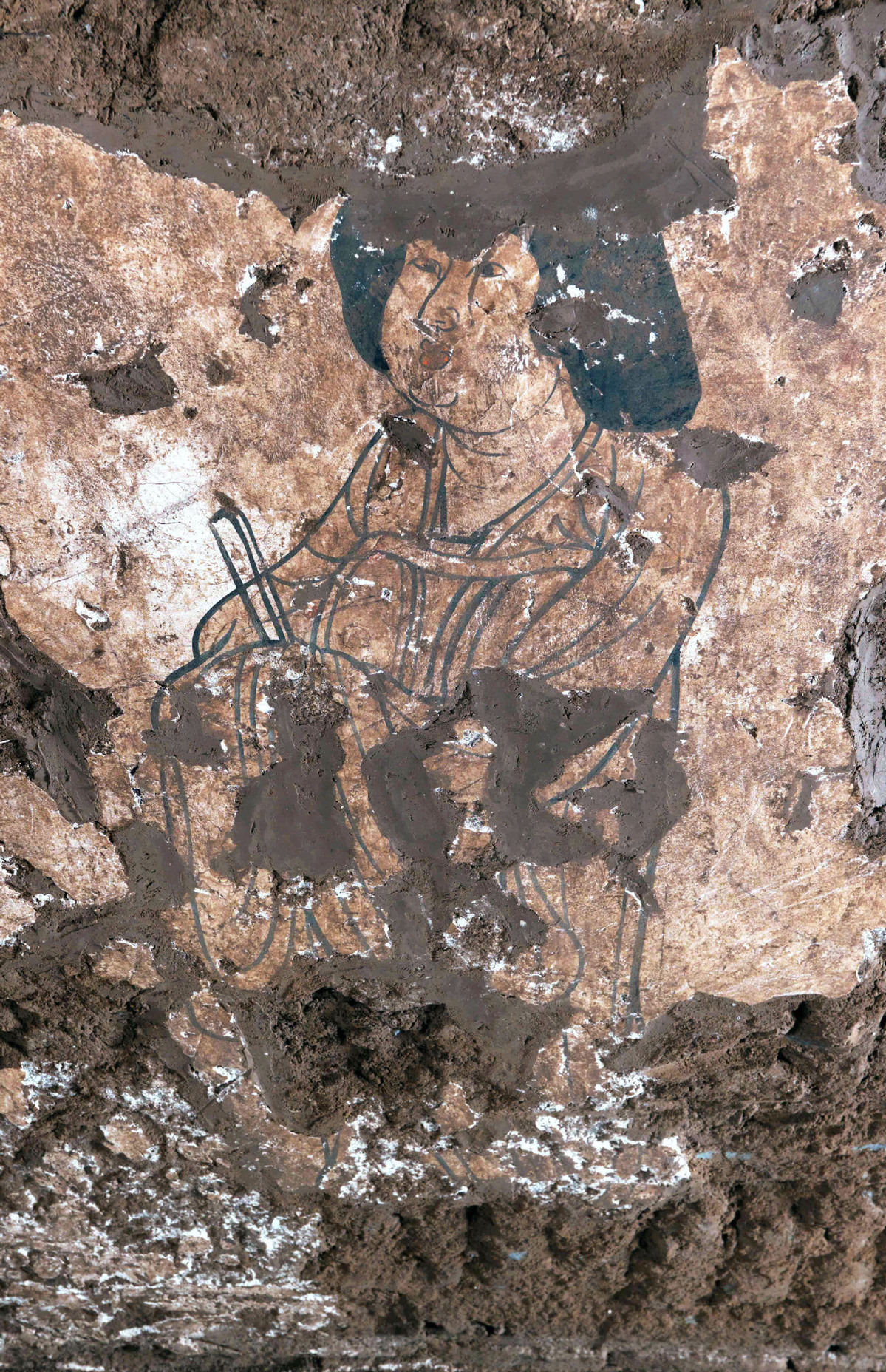 Tomb mural restorations in China's Shaanxi shed light on Tang dynasty life