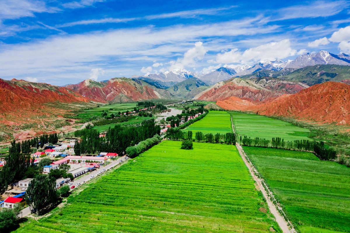 In Xinjiang, rural tourism blossoms
