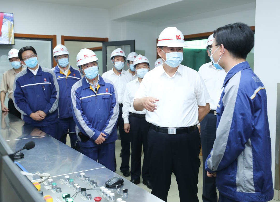 Xi encourages steel company to grow in integrated development of Yangtze River Delta