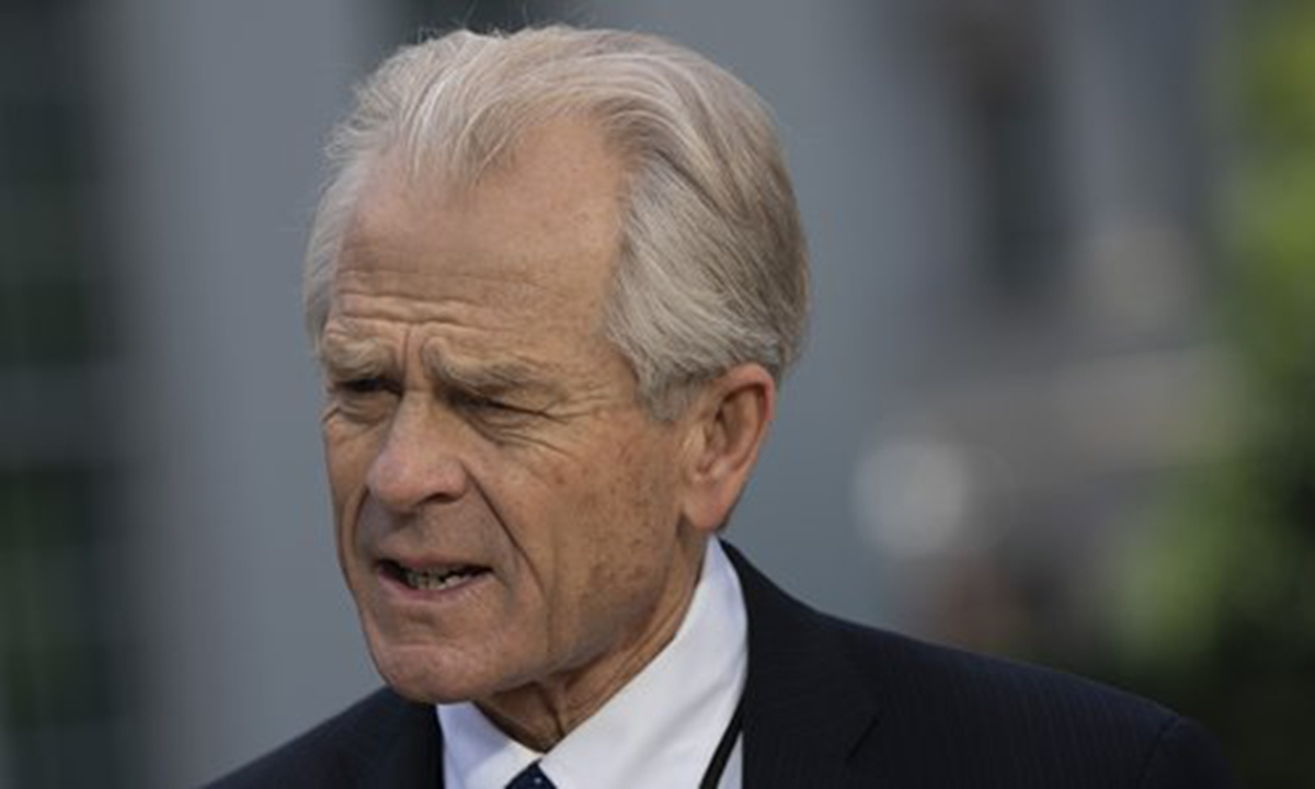 Navarro's accusation 'completely groundless'; China not interested in US election: FM