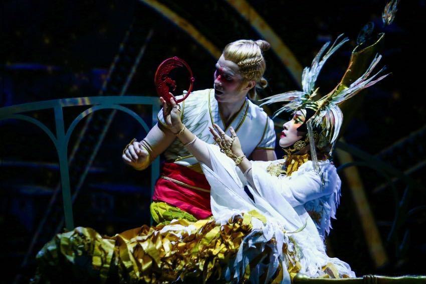 Cirque du Soleil's China show celebrates 1-year anniversary