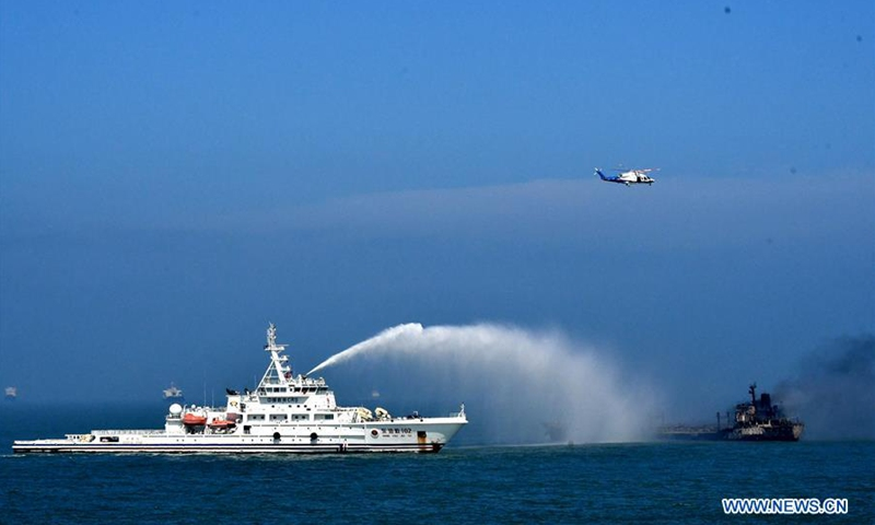 3 rescued, 14 missing after ships collided near Yangtze River Estuary