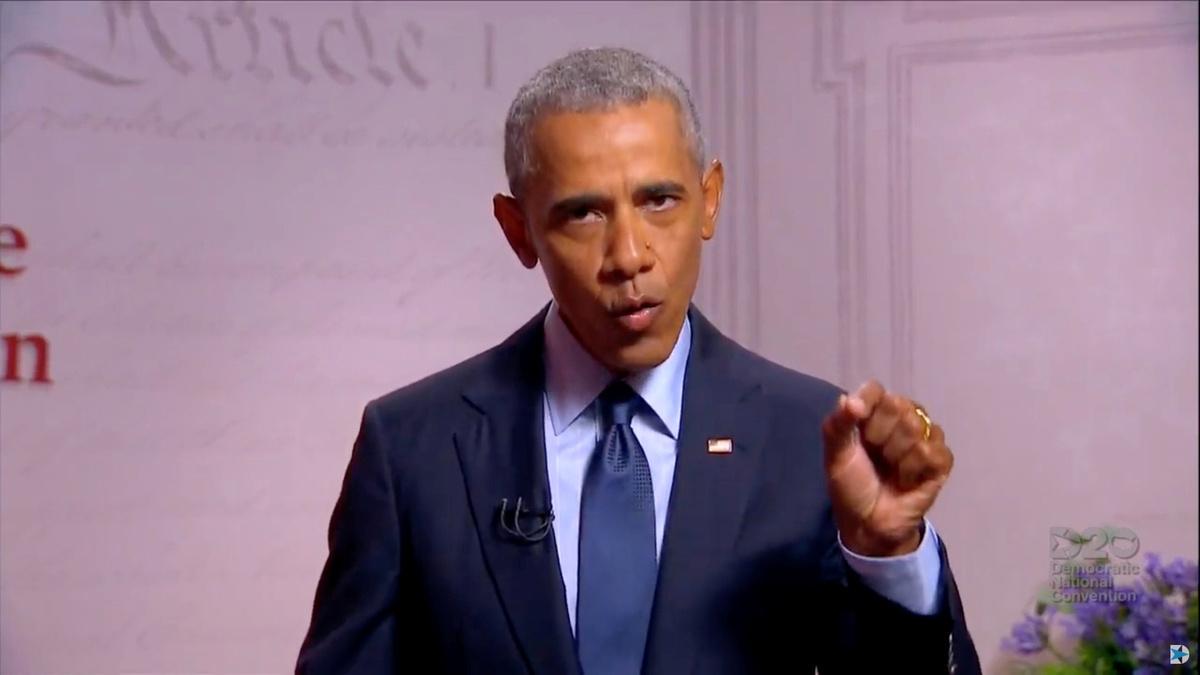 Obama tells DNC that Trump's failure 'severe'