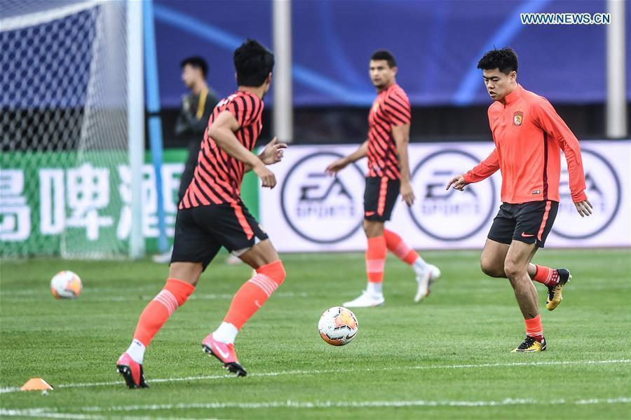 Guangzhou Evergrande Taobao vs. Jiangsu Suning at CSL