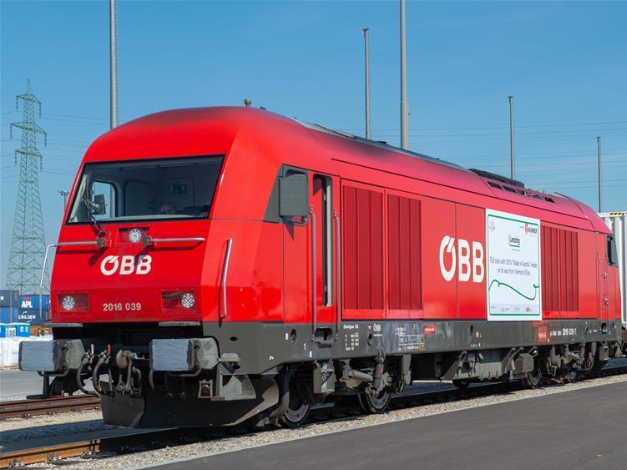 Train loaded with 'Made in Austria' goods leaves Vienna for China