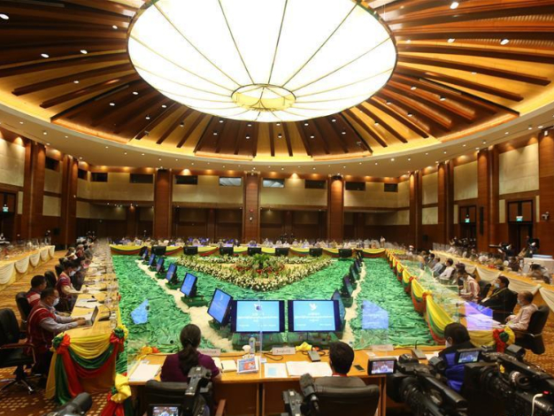Myanmar's Panglong peace conference concludes with signing Union Accord III
