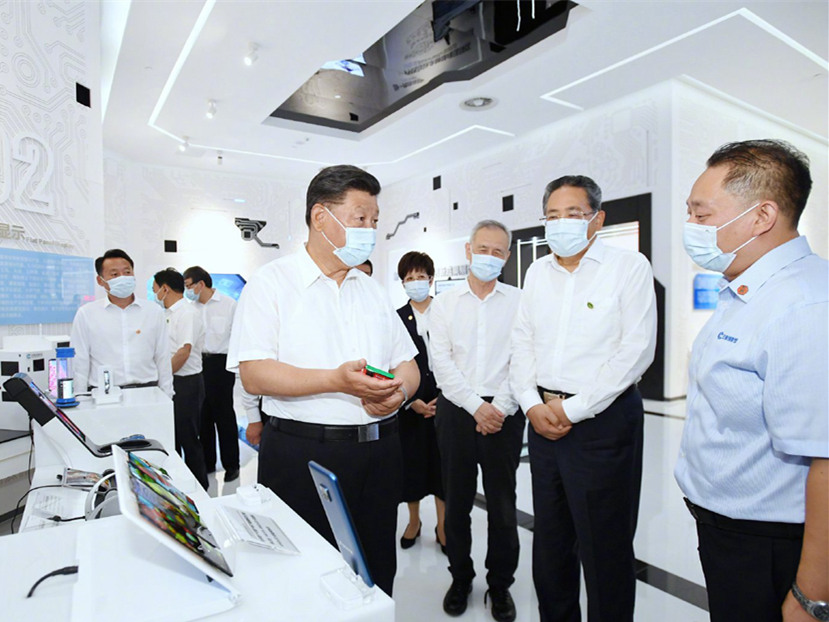 Xi stresses reform and opening up, high-quality development during Anhui inspection