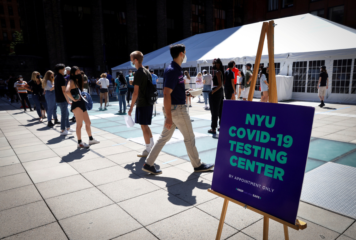 Trump pushes US universities to keep reopening despite COVID-19 cluster outbreaks