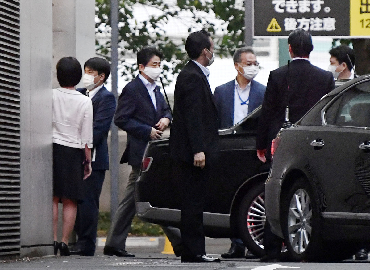 Abe's party faces bulked-up foe