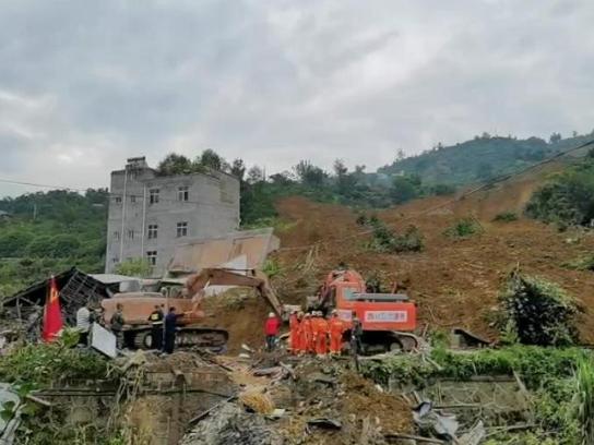 8 missing in southwest China landslide
