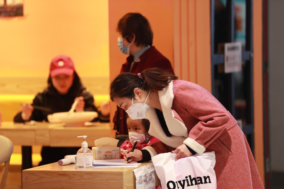 Most Chinese only dine in restaurants with epidemic control measures: survey