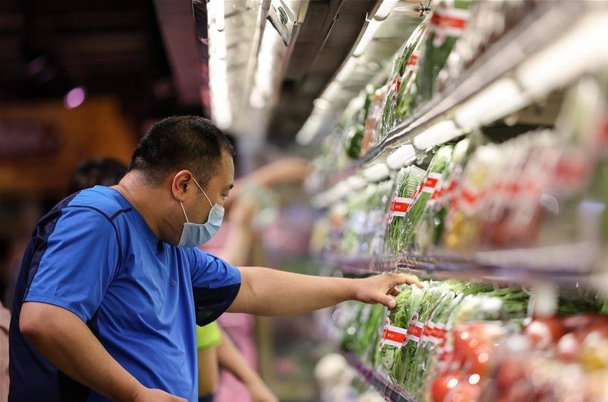 China's food industry stable in H1