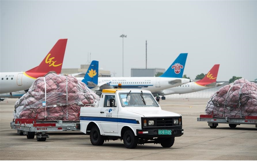 China's Changsha opens air freight route to New York