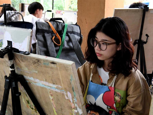Village in Henan becomes tourist complex for art students
