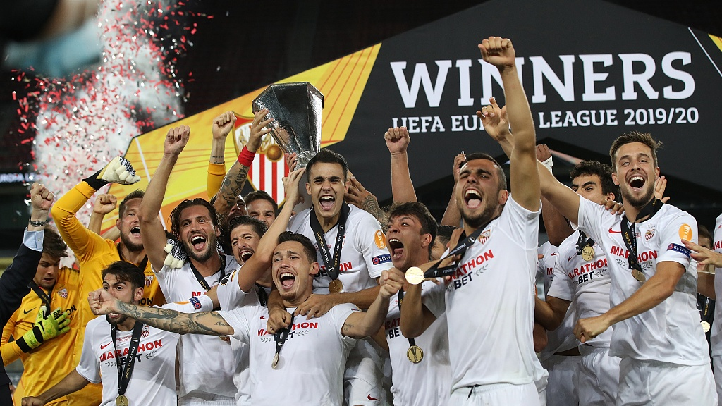 Sevilla edge Inter in epic final to win sixth Europa League title