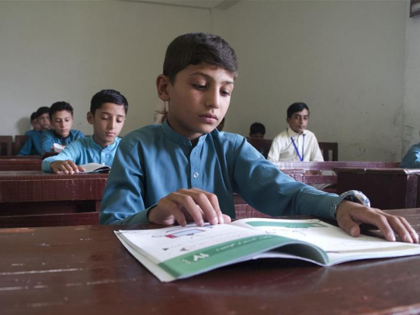 Afghan government reopens schools after five-month shutdown