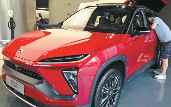 Nio charges ahead towards battery swap service