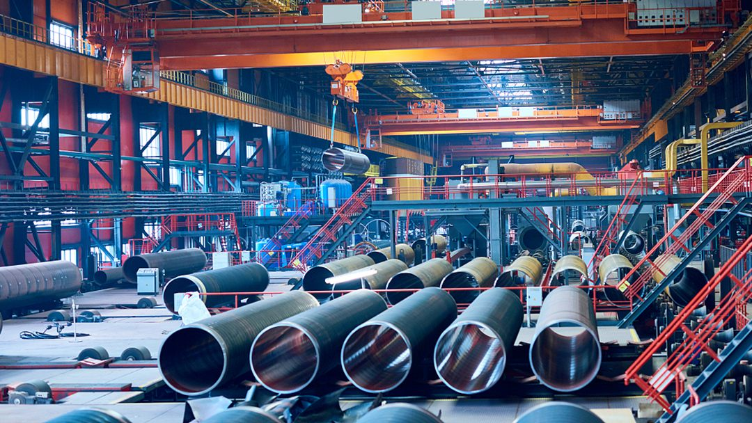 China's steel output record high in July on strong domestic demand