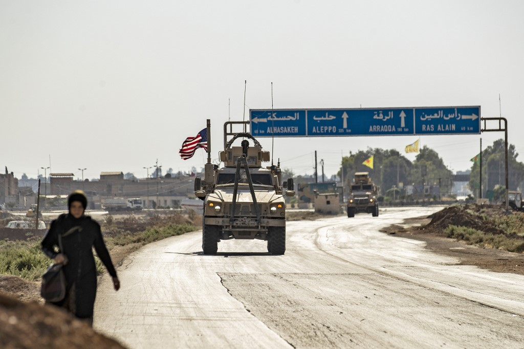 US sends military gear to bases in Syria's Hasakah: watchdog