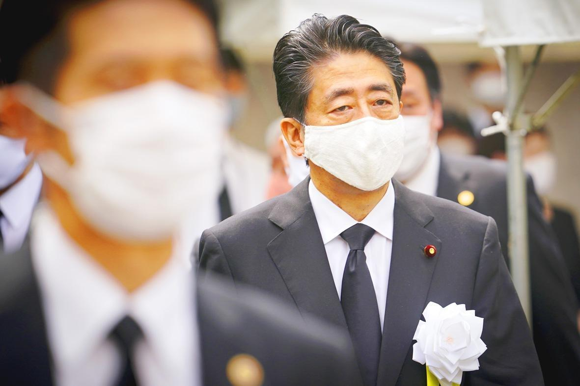 Japan's Abe returns to hospital a week after 7-hour 'health checkup'