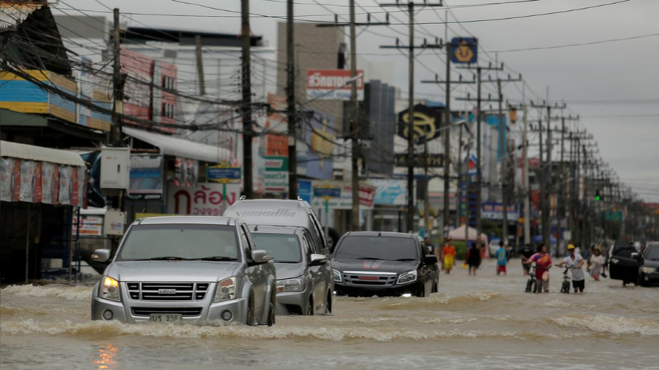 Northern Thailand provinces hit hard by floods