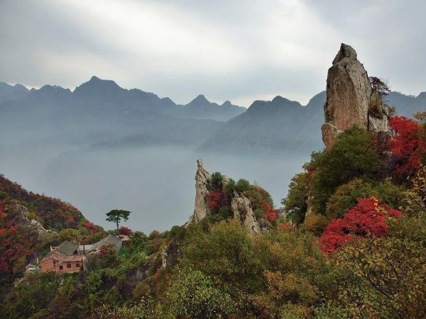 This is Shaanxi: Cuihua Mountain