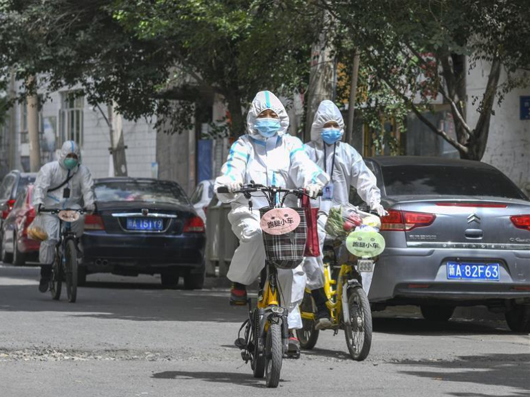 Urumqi relaxes management rules for 'epidemic-free' neighborhoods
