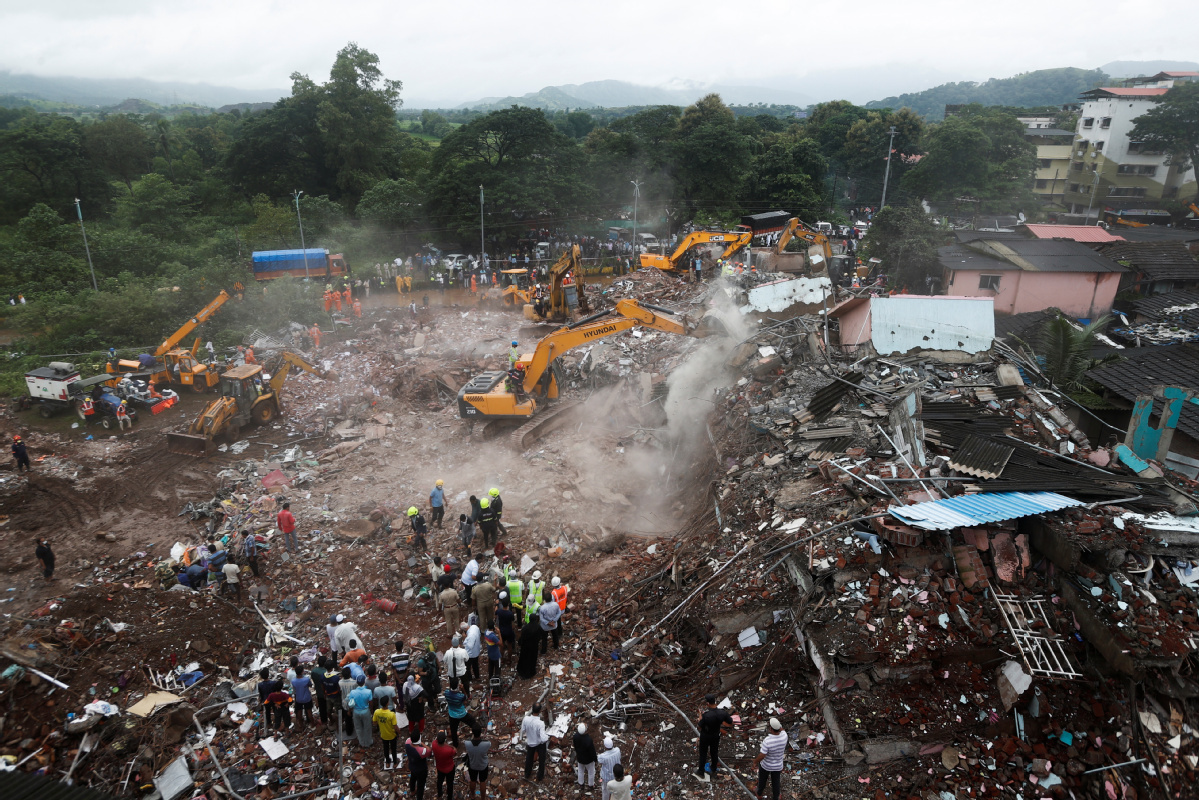 Fears for dozens missing in deadly building collapse