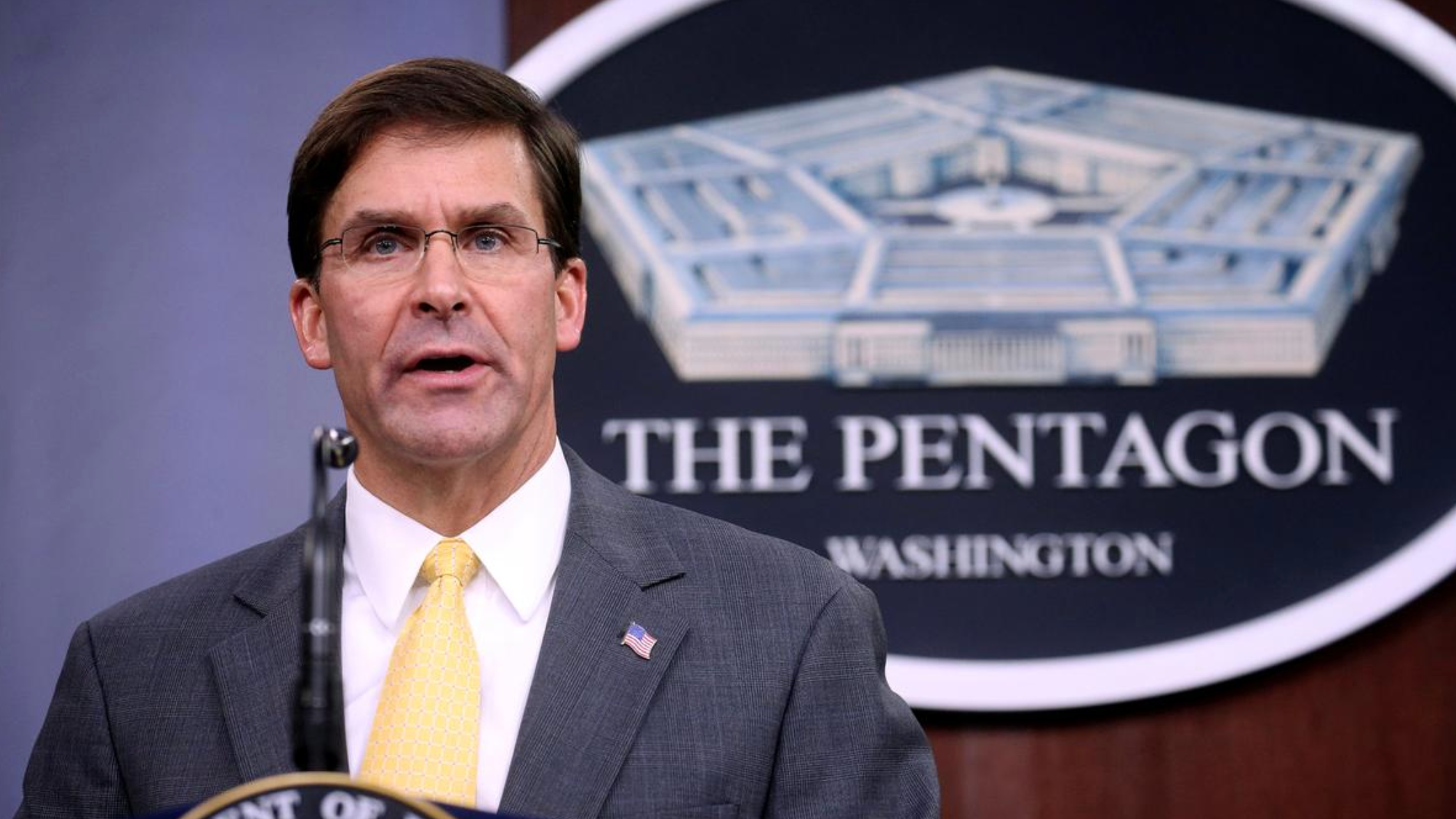 Chinese official slams Esper's op-ed by listing facts