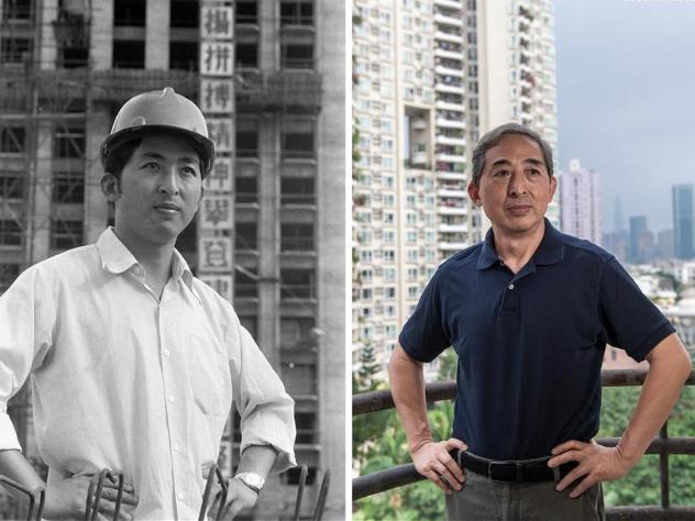Combo photos show development of Shenzhen in 40 years