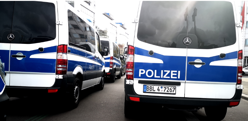 German capital Berlin struck by two bank robberies within one hour