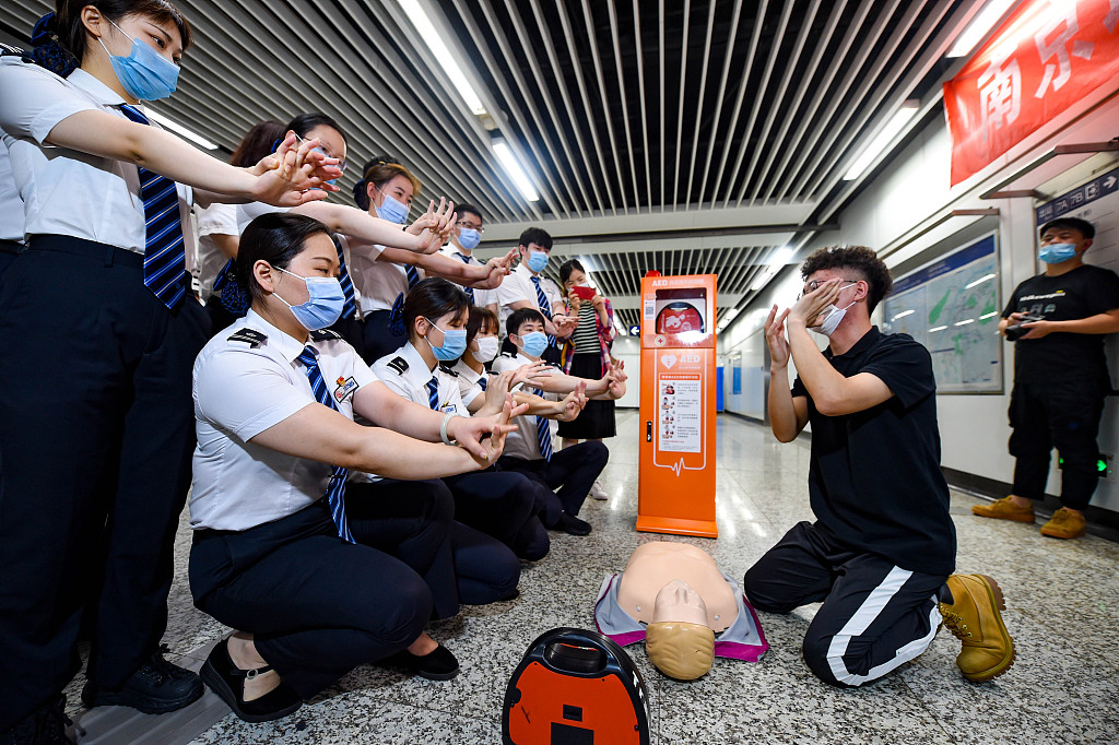 China makes CPR part of school curriculum