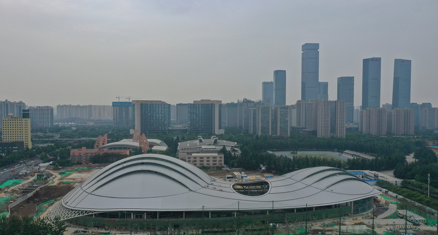 All venues completed ahead of China's 14th National Games