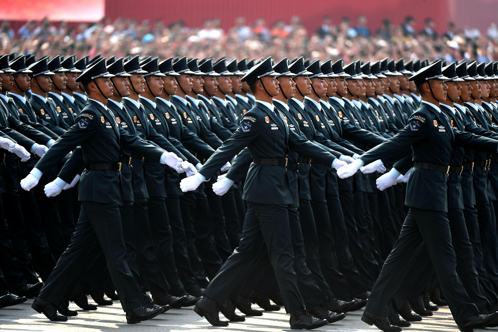 Chinese military academies enroll over 12,000 high school graduates in 2020