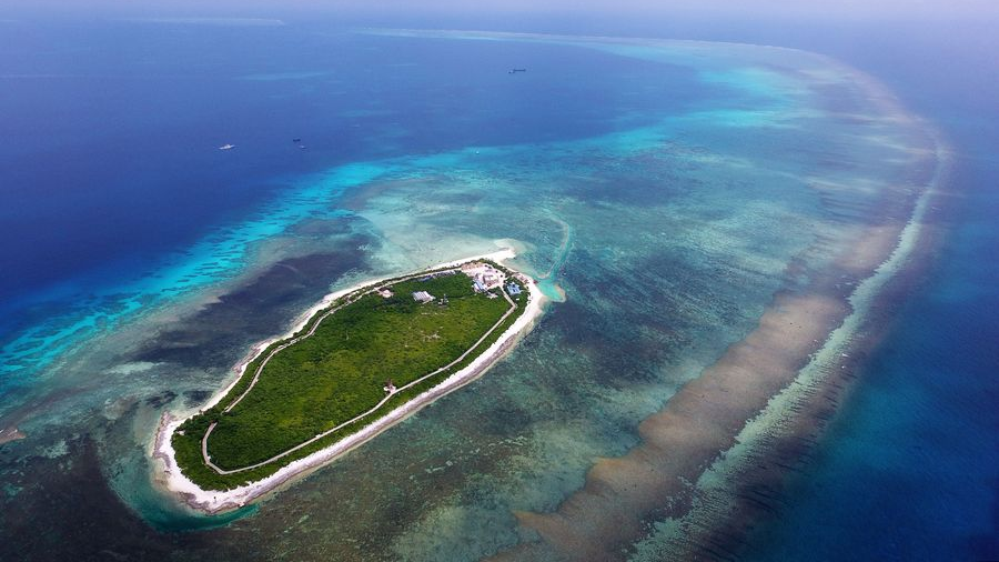 China opposes US sanctions relating to South China Sea construction