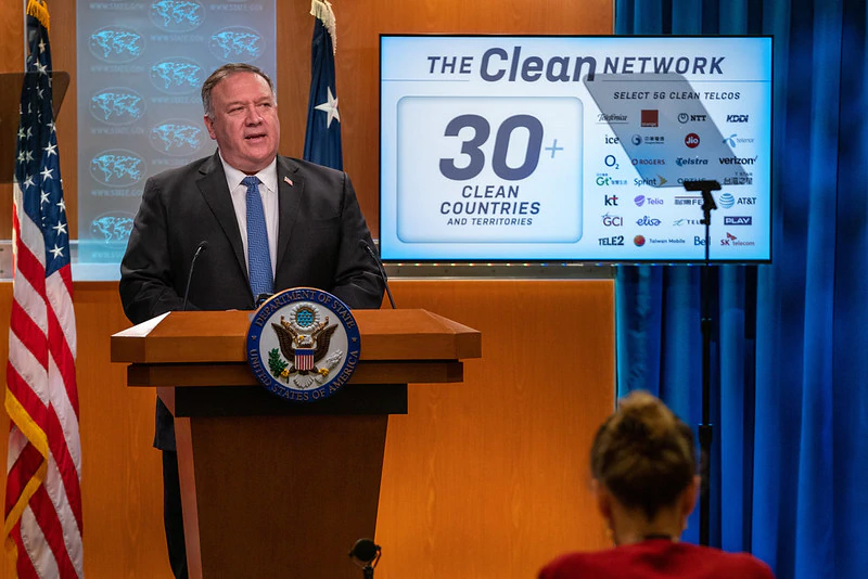 So-called 'clean network' proposed by US totally a dirty scheme
