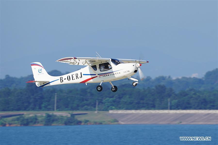 China's new light-sport aircraft completes maiden flight