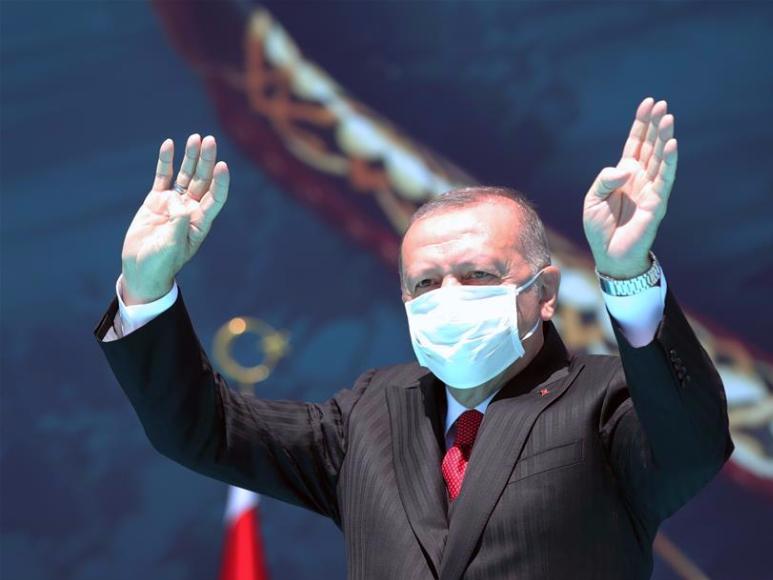 Turkey not to compromise in East Mediterranean dispute: Erdogan