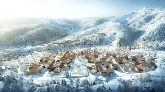 Sample rooms of Yanqing Winter Olympics Village unveiled