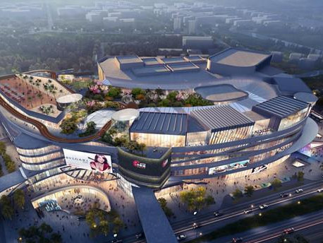 SCPG opens Shanghai's largest single building mall