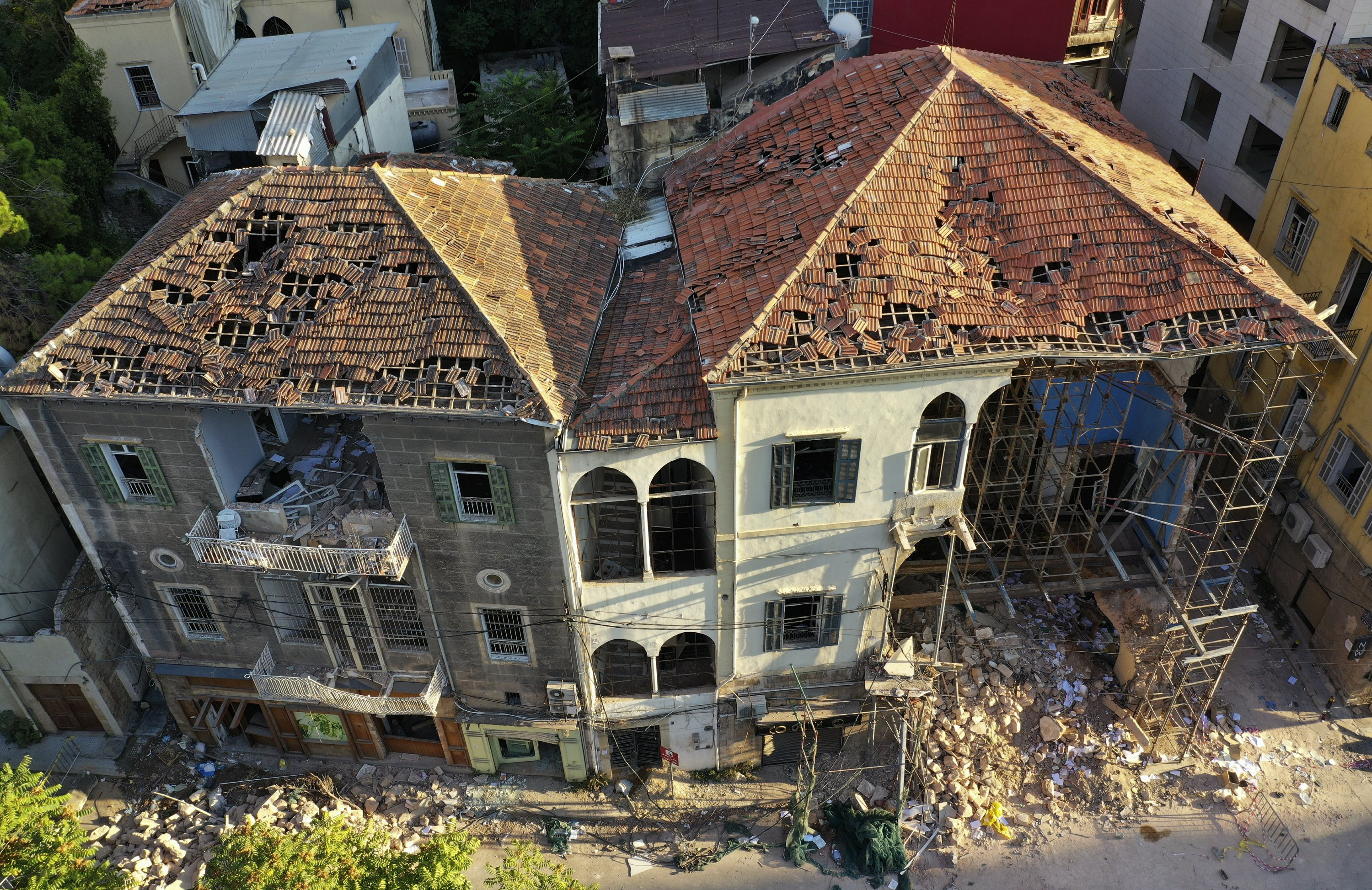 Beirut residents determined to save heritage lost to blast